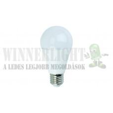LED 12W, a 100W izzó helyett, 1200 lumen, 60MM, teljes bura 270°, 2700K, meleg fehér