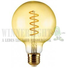 LED 6W, 500 Lumen, 50W izzó helyett.  2100K, extra meleg fehér