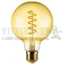 LED 6W, 500 Lumen, 50W izzó helyett., 2100K, extra meleg fehér