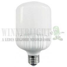 LED 18W, 2000 lumen, 200W izzó helyett. E27, 80 mm fejátmérő, 2700K, meleg fehér