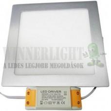 Led panel világítás driverrel, kocka, 9W, 660 lumen, 3000K, meleg fehér