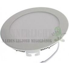 Led panel világítás driverrel, kör, 9W, 730 lumen, 6000K, hideg fehér