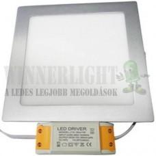 Led panel világítás driverrel, kocka alakú 24W, 6000K, hideg fehér