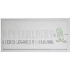 Led panel világítás driverrel, téglalap alakú 36W, 4000 K, közép fehér