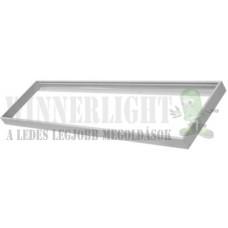 Led panel beépítő keret 30x120 cm