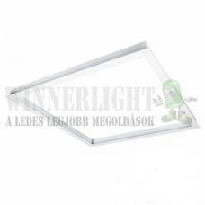 Led panel keret 60x60 cm, gipszkartonba síkjába süllyeszthető