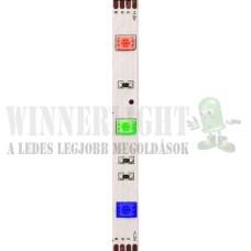 Led szalag 30 led/m, RGB 5050 chip, 100-360 Lumen