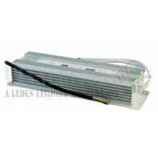 Led DC tápegység, 12,5A, 150W, fém, IP65 vízálló