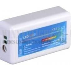 RGB led szalag csoport vezérlő, 216W, rádiós